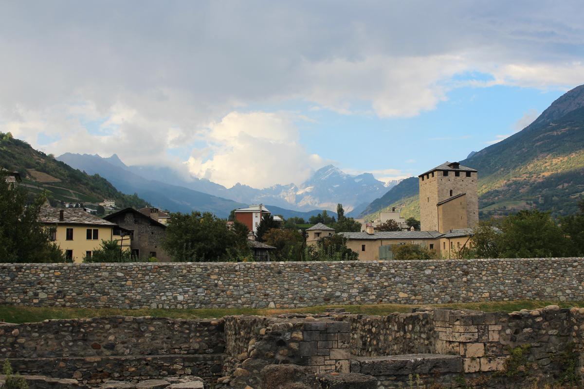 Visiter Aoste Italie