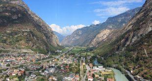 Vue vallée Aoste