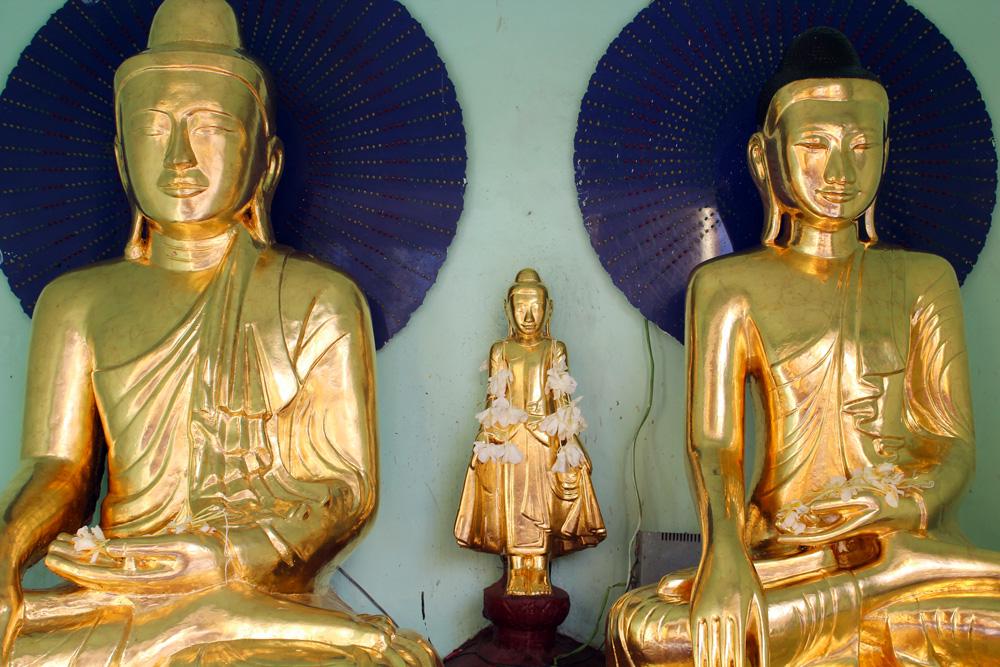 Birmanie bouddha pagode Shwedagon
