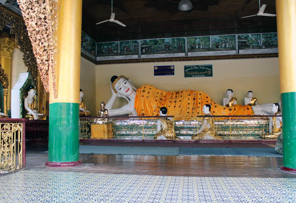 Birmanie bouddha Shwedagon