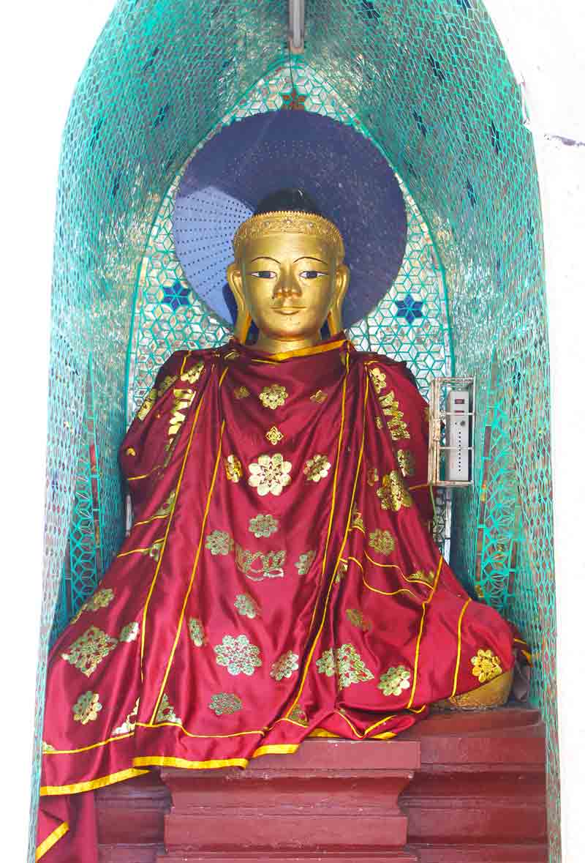 Birmanie Yangon pagode bouddha
