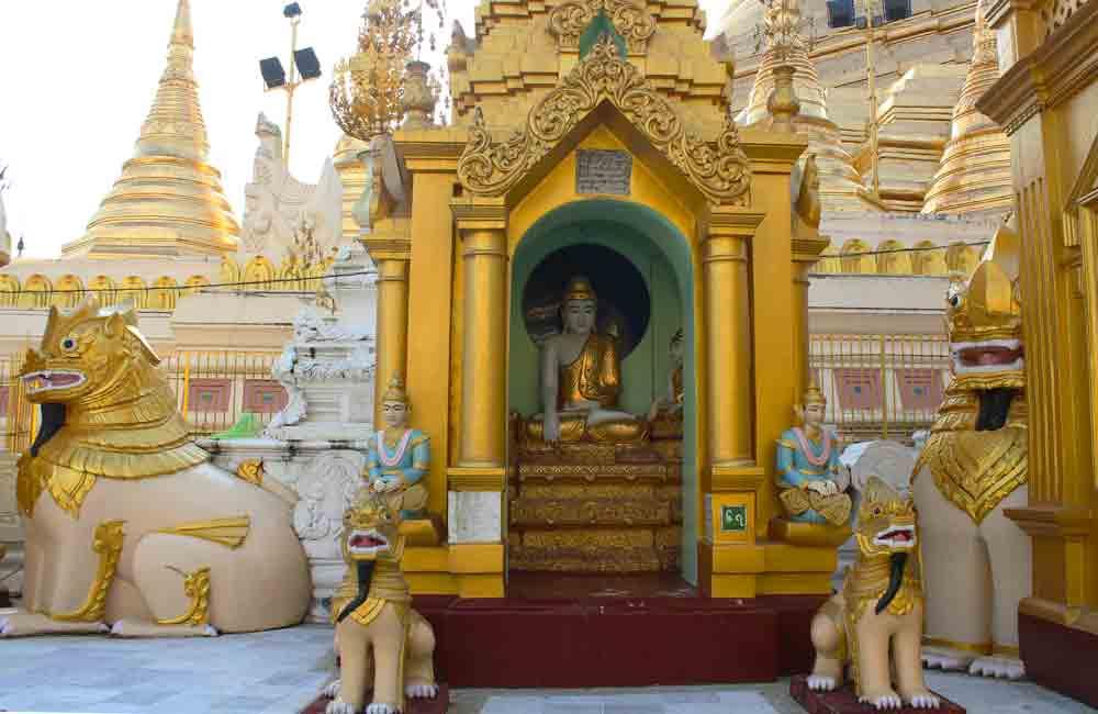Birmanie Yangon pagode
