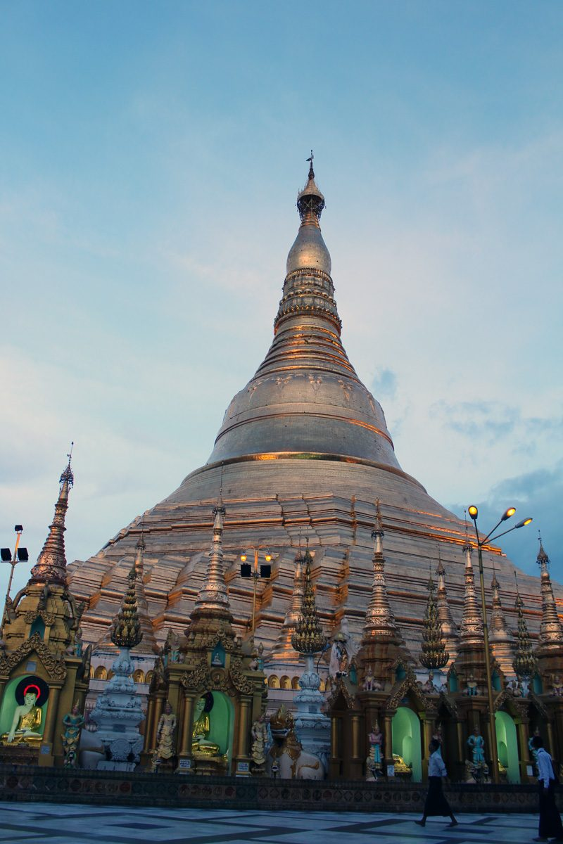 Birmanie Yangon temple