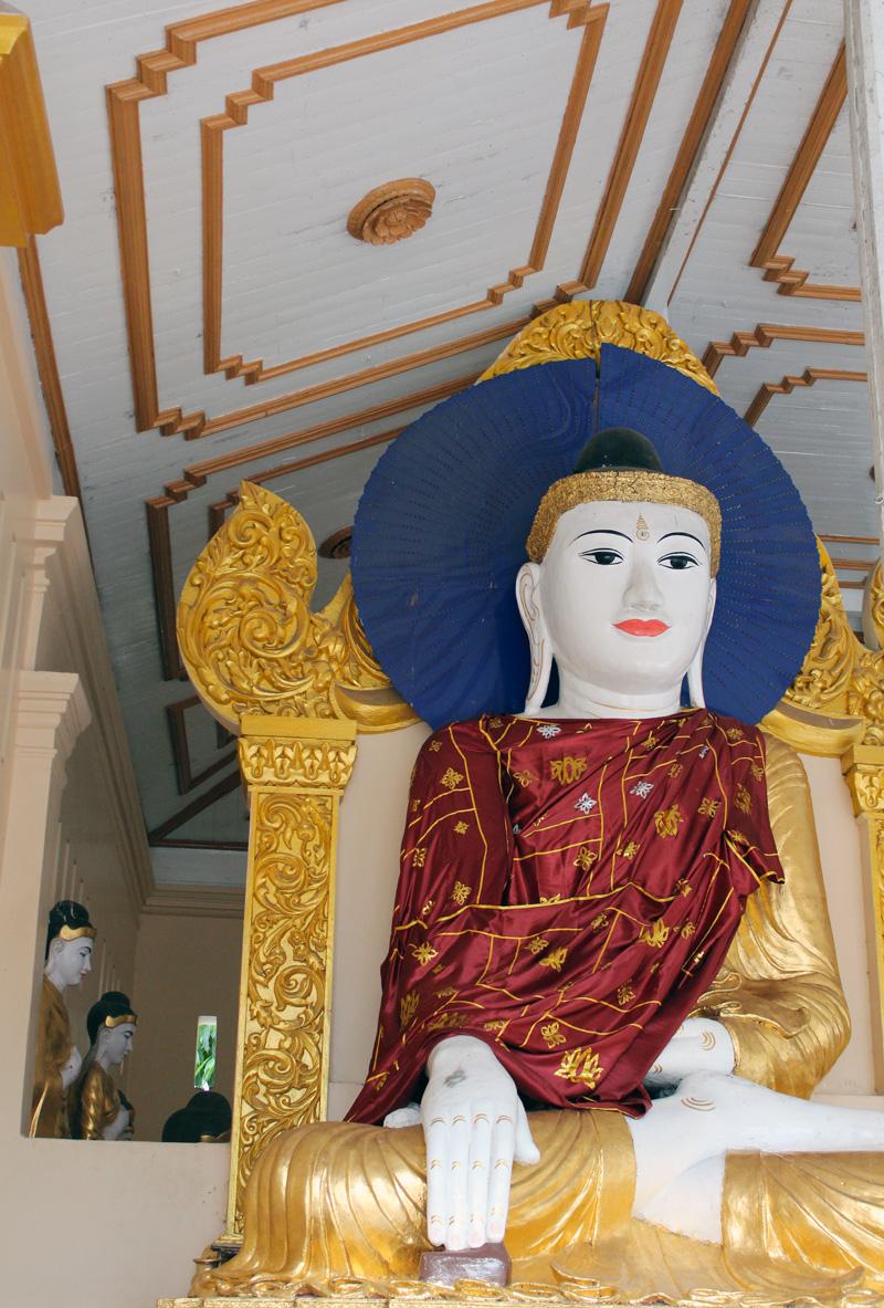 Bouddha Pagode Shwedagon