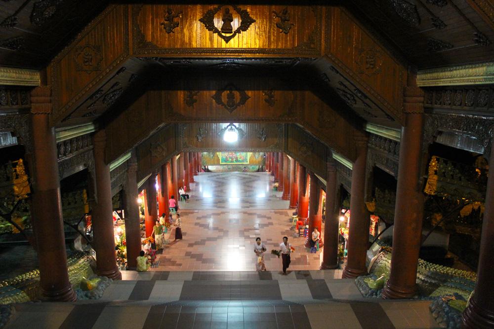 Entrée Pagode de Shwedagon