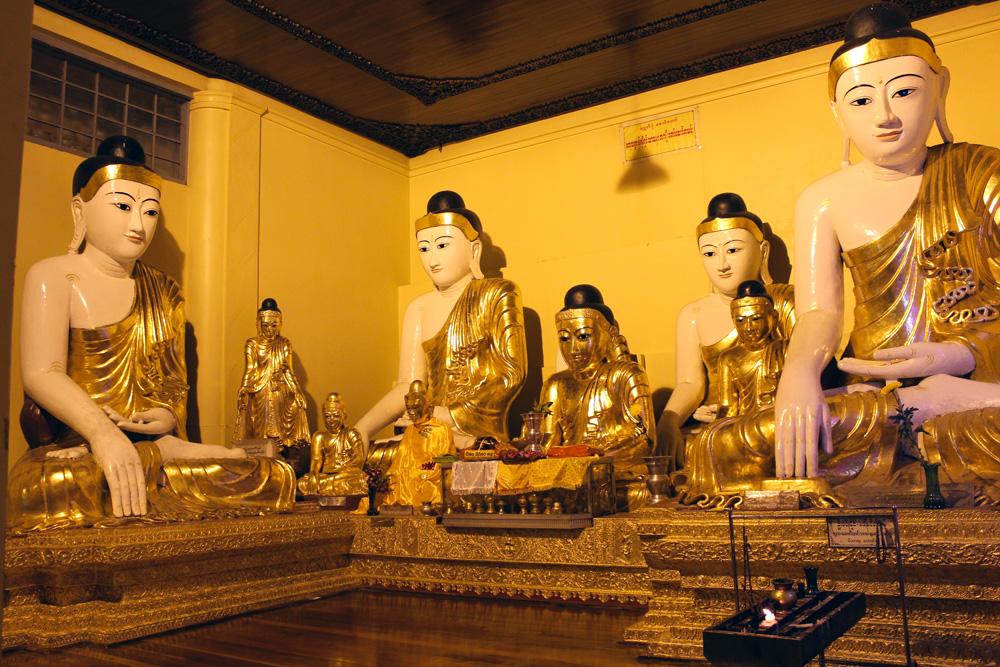 Pagode Shwedagon bouddha