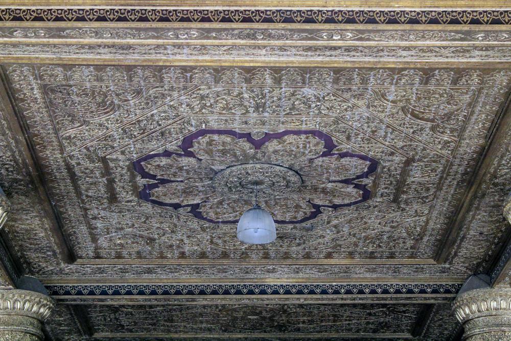 plafond pagode shwedagon