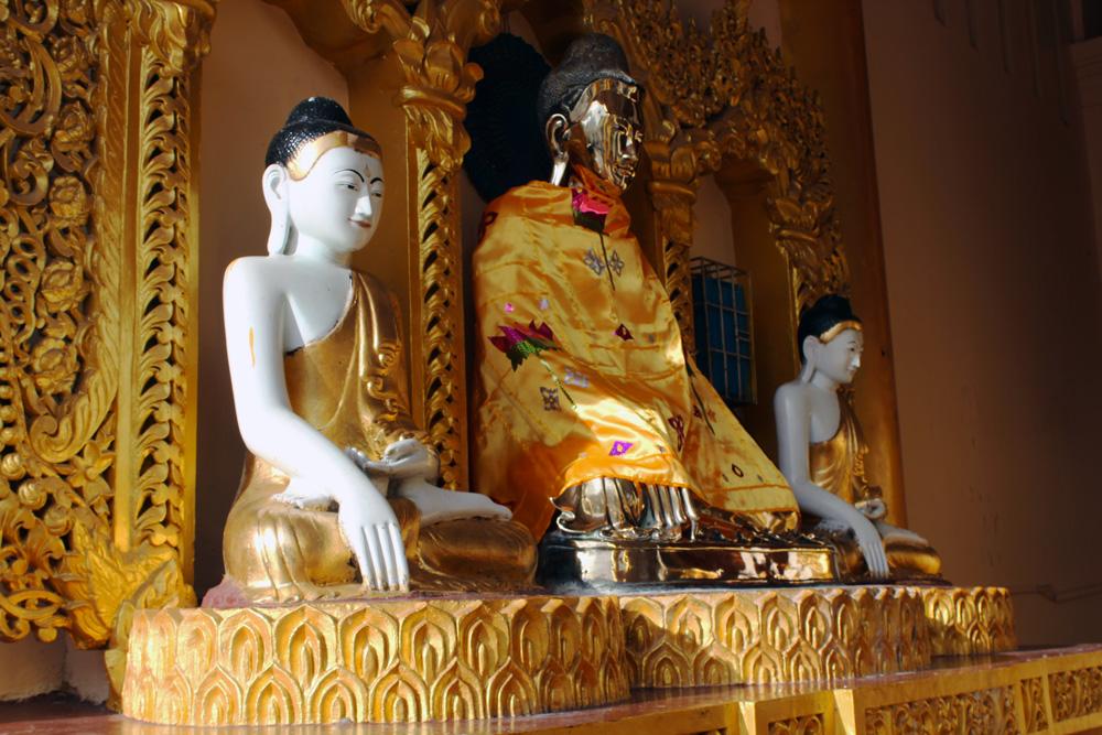 Yangon pagode de Shwedagon