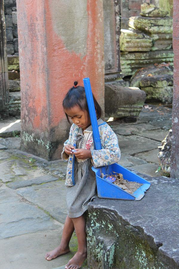 Visiter les temples d'Angkor
