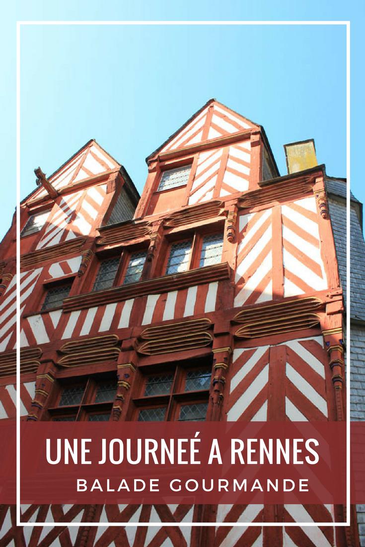 Visiter Rennes gourmande