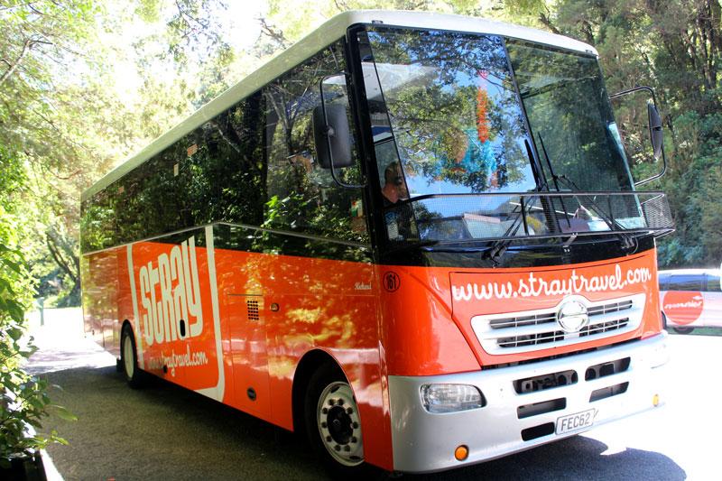 Voyager en bus Stray en Nouvelle-Zélande