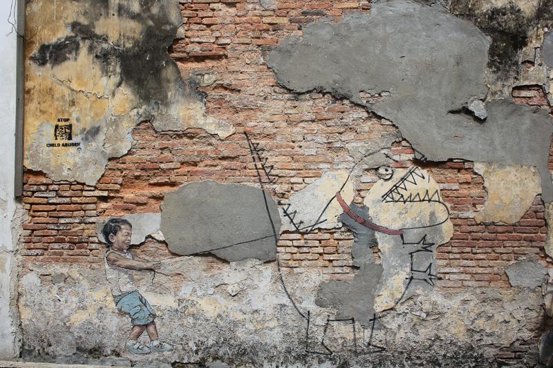 Street art à Penang