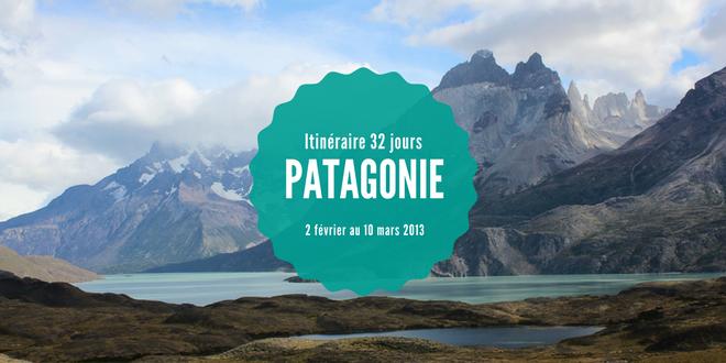 Itinéraire en Patagonie