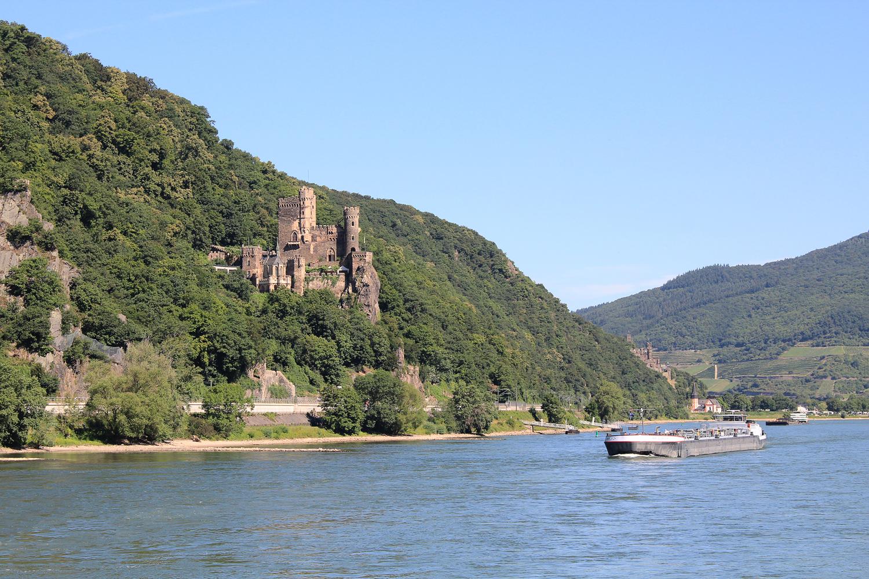 Vallée du Rhin en bateau