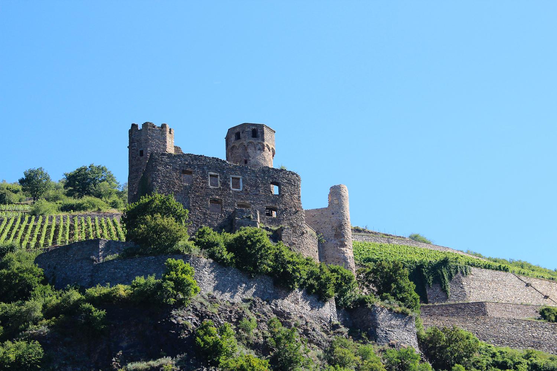 Châteaux de la vallée du Rhin